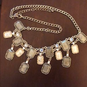 Tan chunky necklace